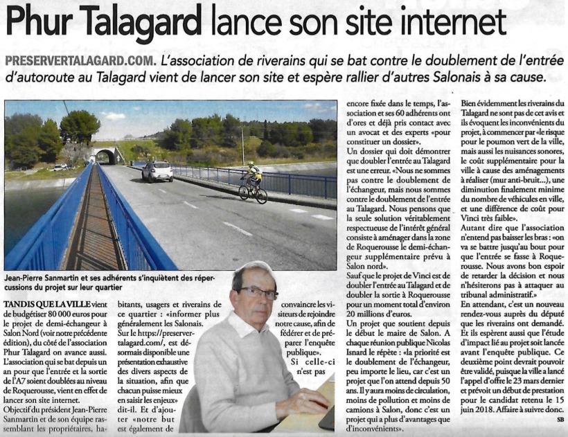 [2018.04.04] Le Régional - Site Internet