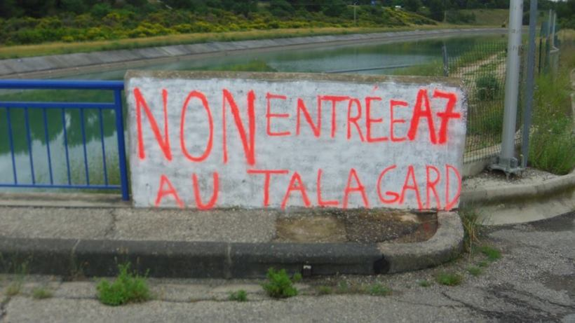 Non Entrée A7 Au Talagard