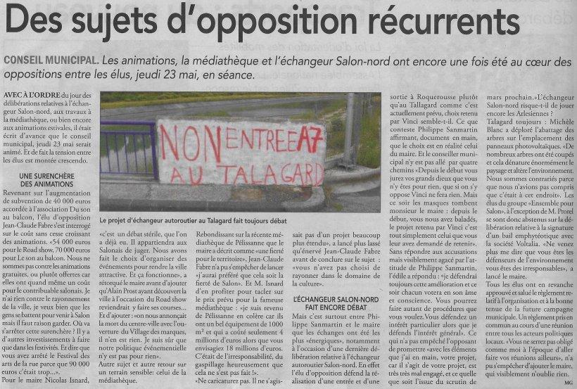 [2019.05.23] Conseil Municipal, Le Régional