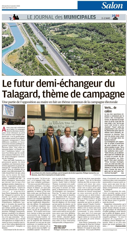 [2020.01.12e] La Provence - Réunion Caumette