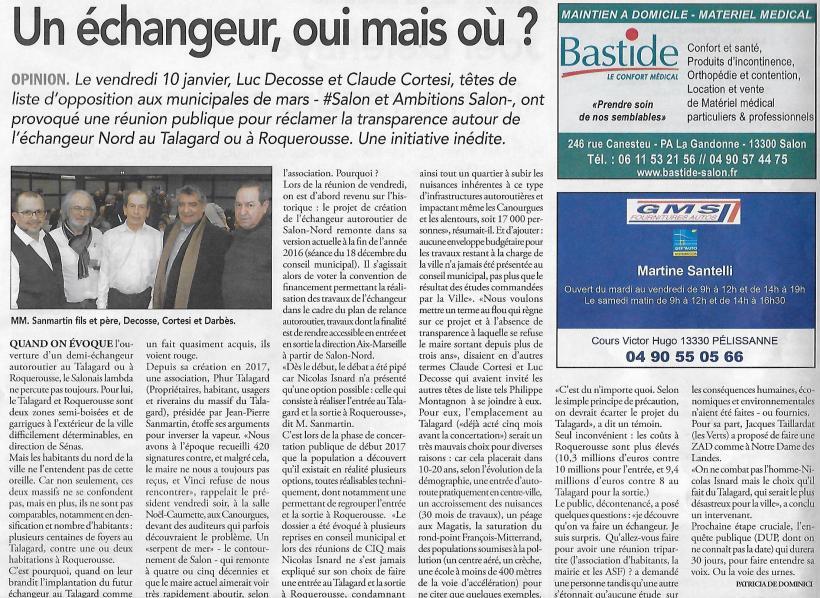 [2020.01.15] Le Régional - Réunion Caumette